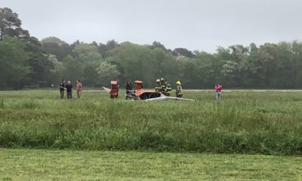 Gyrocopter Crashes at Smith's Beach