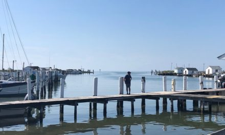 Part of proposed Tangier jetty site is on County property