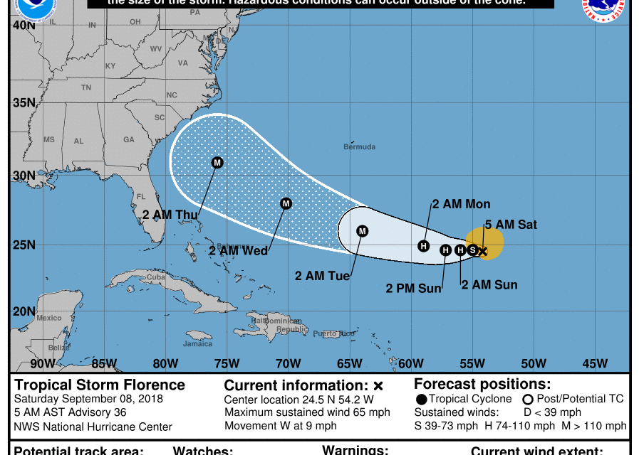 N.C. Governor Declares State of Emergency In Anticipation of Florence