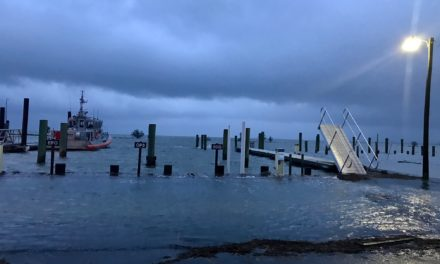 Minor to Moderate Tidal Flooding Expected Today