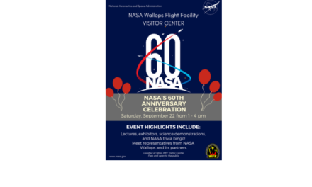 NASA 60th Anniversary Celebration to be Held at Wallops Visitors Center Today