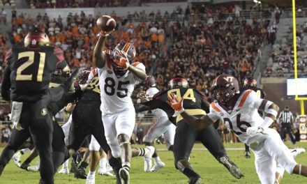 Hokies roll past Seminoles in season opener