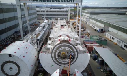 CBBT Tunnel Boring Machine Construction Completed