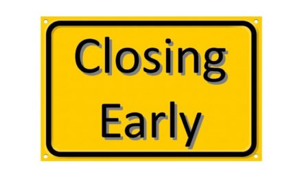 Hallwood Head Start Closing at Noon