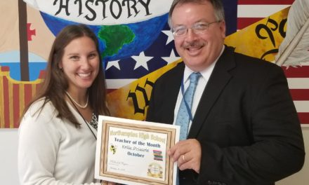 Kelley Driscole Selected Teacher of the Month at Northampton High School