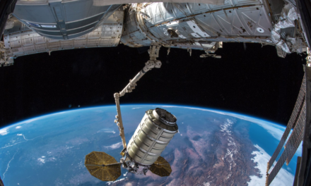 Cygnus Capsule Arrives at the ISS