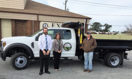 Town Of Exmore Acquires New Public Works Vehicle