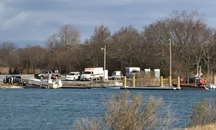 Duck Hunters Rescued after Boat Capsized Near Oyster