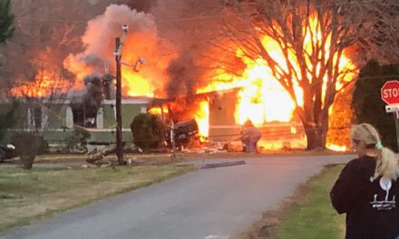 Truck Crashes Into Wachapreague Residence Causing Fire
