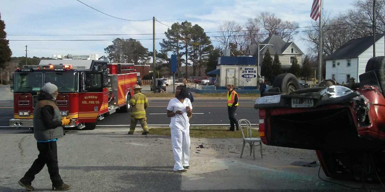 Second Tuesday accident disrupts traffic in Mappsville