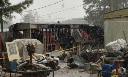 Victims of Johnson Court trailer fire were stabbed