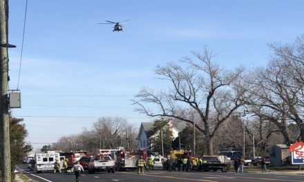 Mappsville accident closes Route 13 for airlift of victim