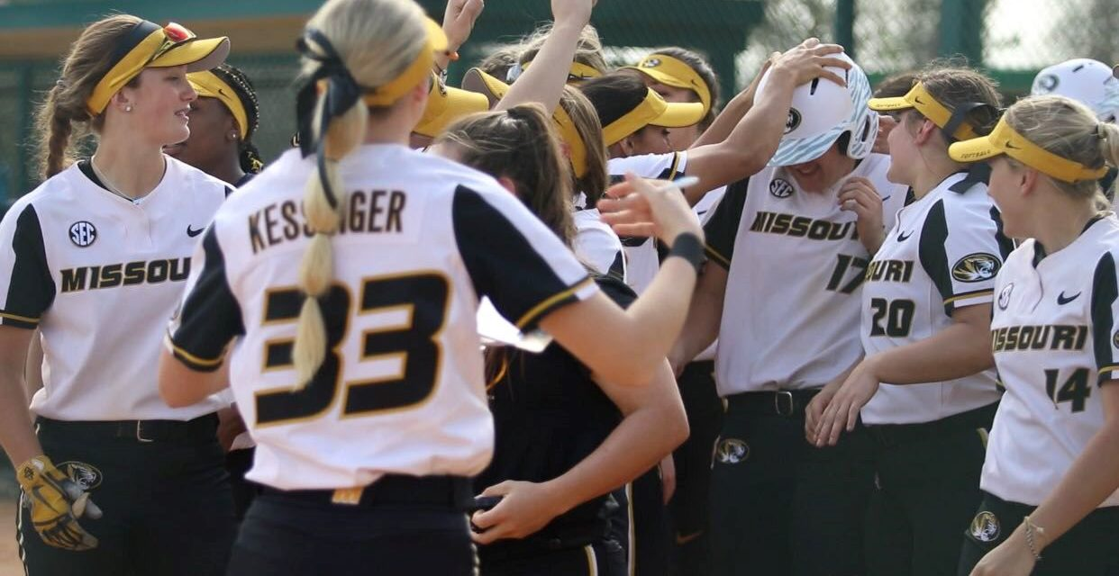 Nandua grad Wert shines as part of University of Missouri's softball team