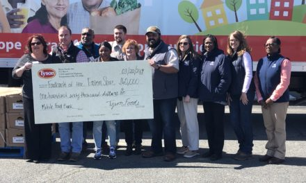 Tyson Foods gives Foodbank $160,000 for refrigerated truck