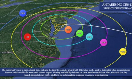 April 17 Antares launch from Wallops should have good viewing from Eastern Shore