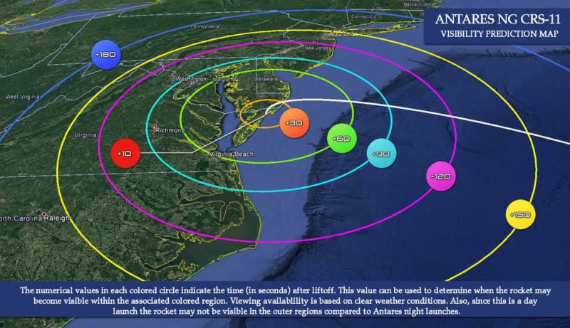 Antares liftoff set for 4:45 PM today