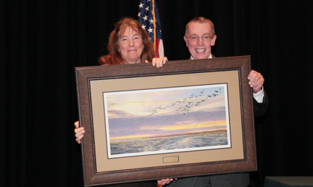 Terwilliger receives Robert McDowell Award for Conservation Management Excellence
