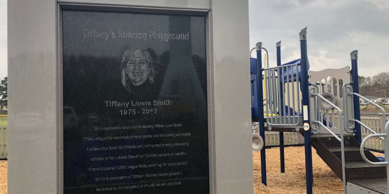 Playground named for Tiffany Lewis Smith dedicated at CALL