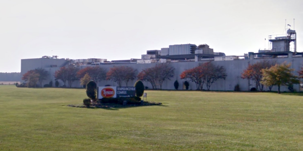 Tyson Foods to close Temperanceville Plant this weekend for deep cleansing process