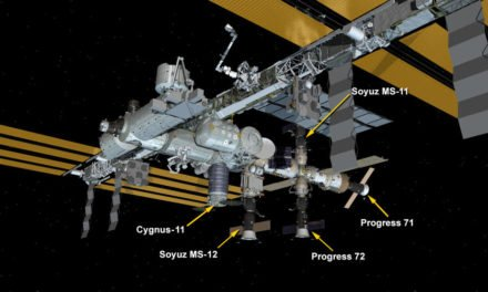 Cygnus arrived at ISS Friday