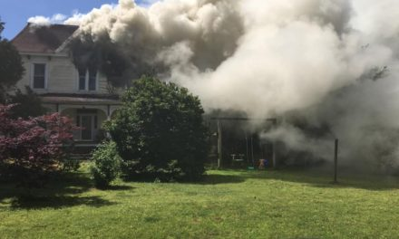 Onancock House Heavily Damaged By Fire