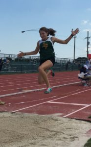 Carly Wardius Broadwater Track and Field WESR ShoreDailyNews