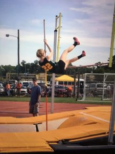 Emily Nordwall Broadwater Track and Field WESR ShoreDailyNews