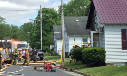 Fire Damages Home on Watson St. in Onancock