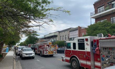 Fire at Cape Charles Hotel