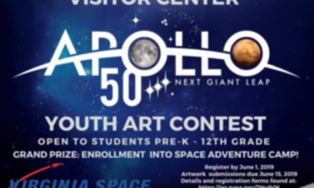 NASA Wallops Visitor Center Apollo-themed Youth Art Contest Announces Grand Prize