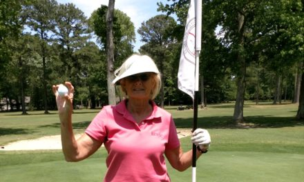 Local woman aces 17 at the Country Club