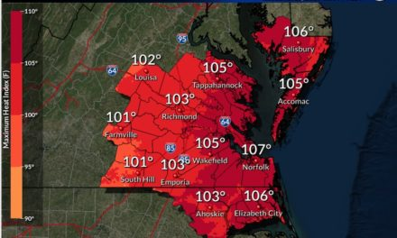 Heat Advisory issued for the Eastern Shore