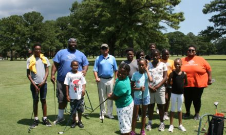 Boys and Girls Club get golf lessons