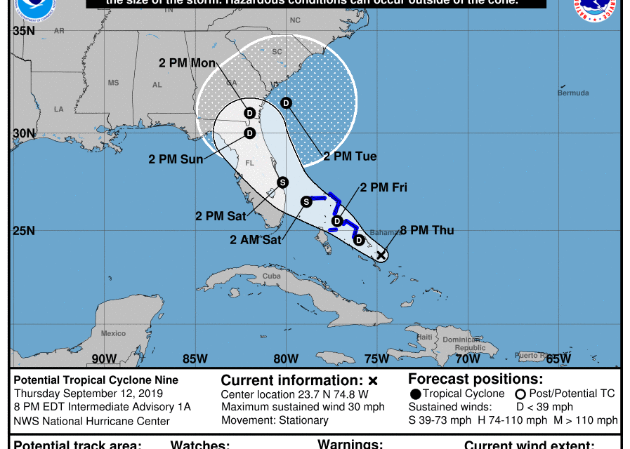 Tropical Storm Could Threaten Eastern Shore Late Next Week
