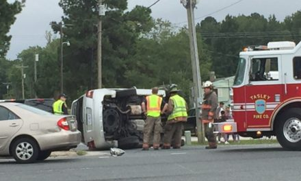 Route 13 Accident in Tasley closes one lane