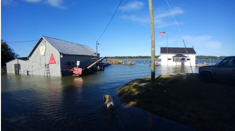 One More Day of Moderate Tidal Flooding