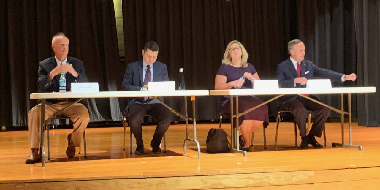 Candidates for State office discuss issues at CBES Forum