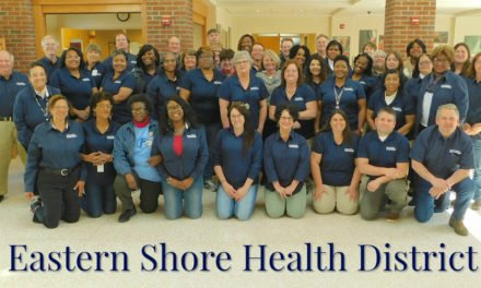 Eastern Shore Health District recognized by National Health Officials