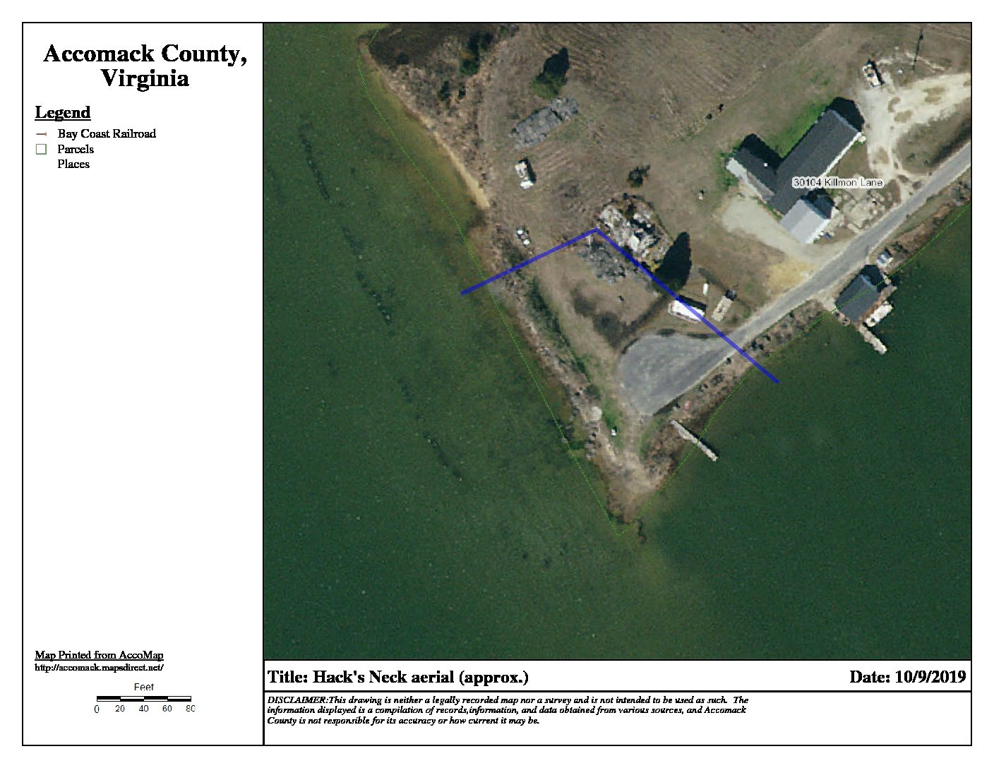 Accomack County Supervisors pass resolution to acquire Hacks Neck Ramp property for public use