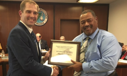 Accomack County receives award from VACO for development of Sawmill Park