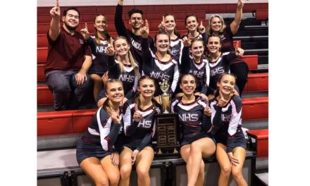 Nandua wins Eastern Shore Cheerleading District Championship