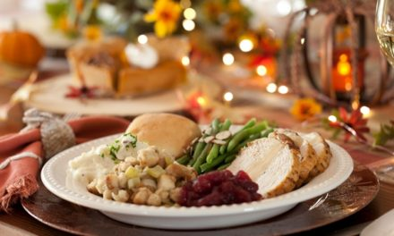 Average cost of Thanksgiving Dinner is a little over $6 per person