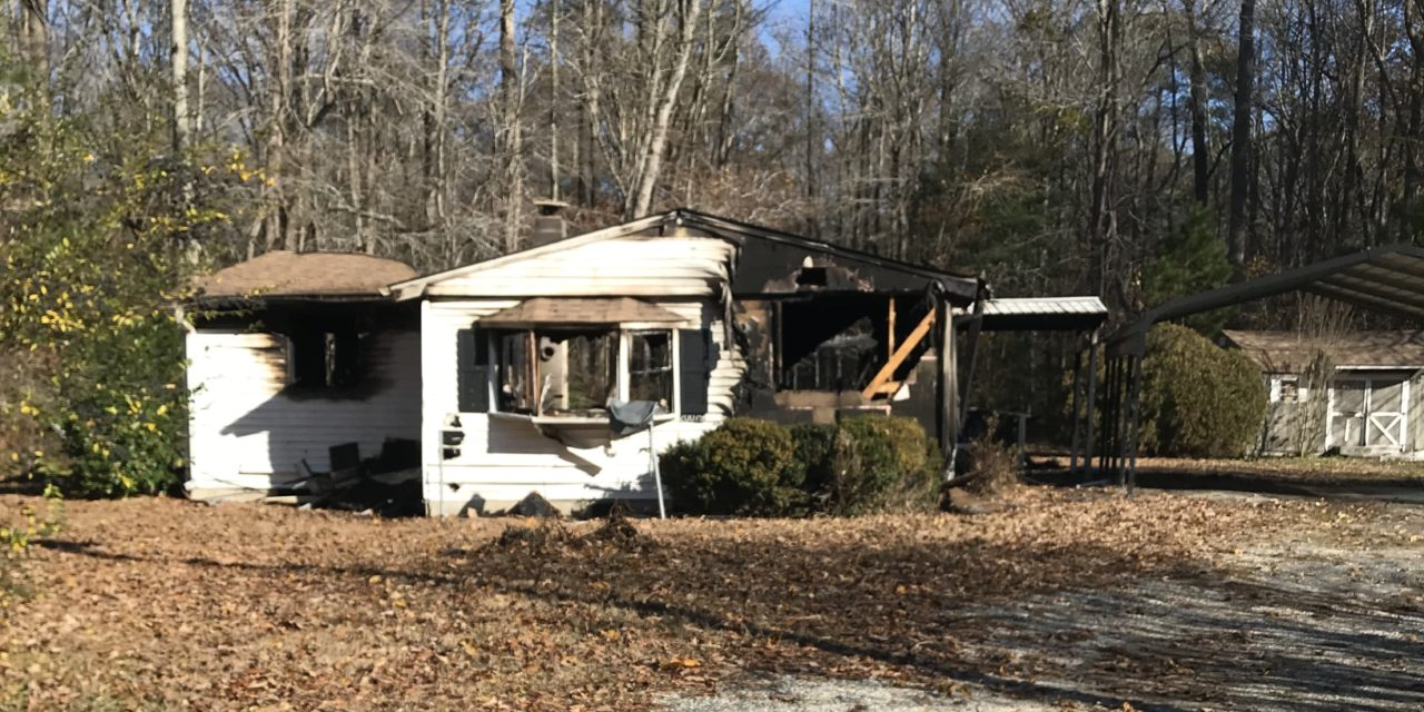 Several Fire Companies Respond to Abandoned Structure Fire on Piggin Road