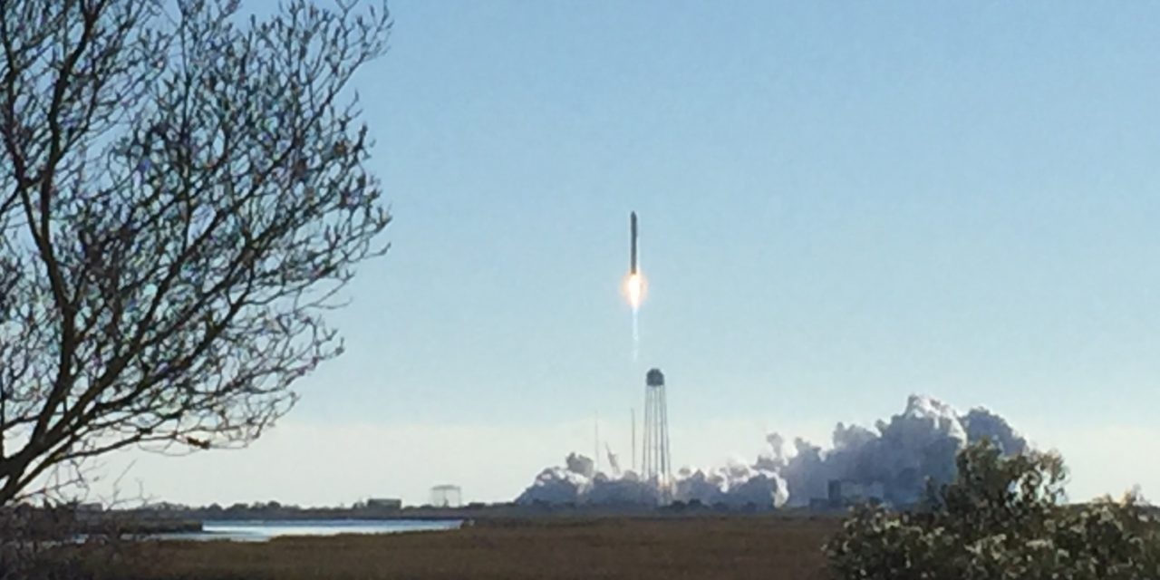 Another Perfect Launch Sends Cygnus to the ISS