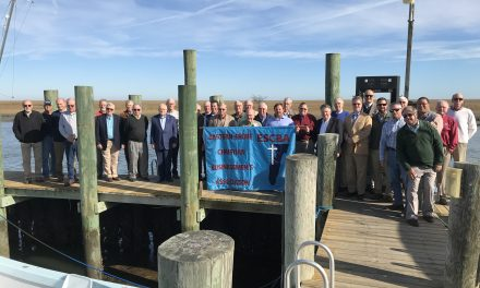 Eastern Shore Christian Businessmen hear talk on Navy Seal Foundation Oyster Roast