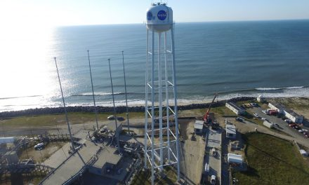 Rocket Lab opens launch complex at Wallops