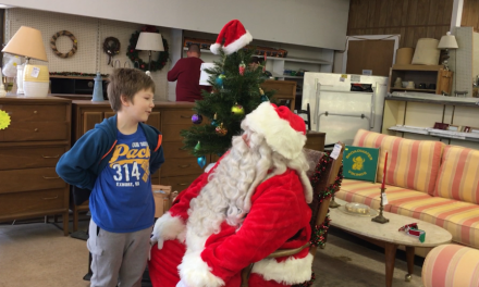 Shore Perspectives: Santa Claus at the Habitat for Humanity