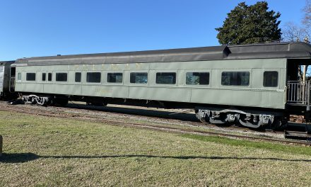 Historic rail car to leave Parksley