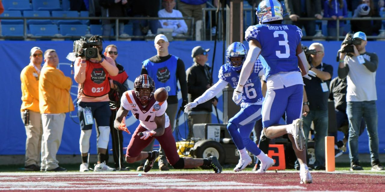 Hokies lose Belk Bowl heartbreaker to Kentucky in waning moments