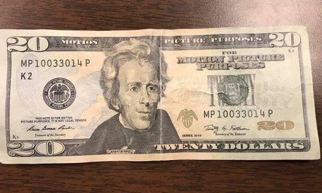 Exmore police looking for counterfeit bills